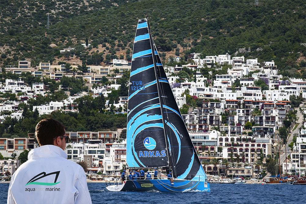 Arkas Sailing teknelerini Aquamarine koruyacak