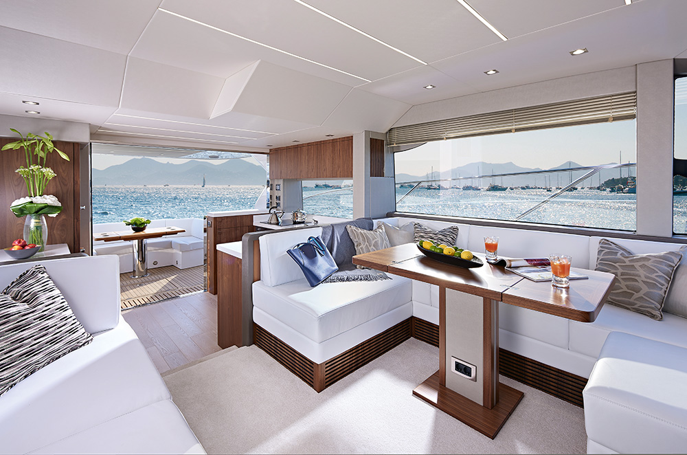 Sunseeker Manhattan 52 - Salon