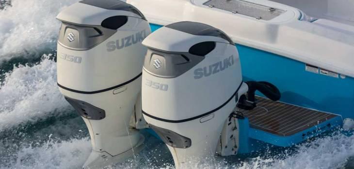 Suzuki Marine, çift pervaneli 350hp dıştan takma modelini tanıttı.