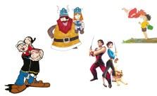 Denizle büyüyen çocuklar için çizgi filmler