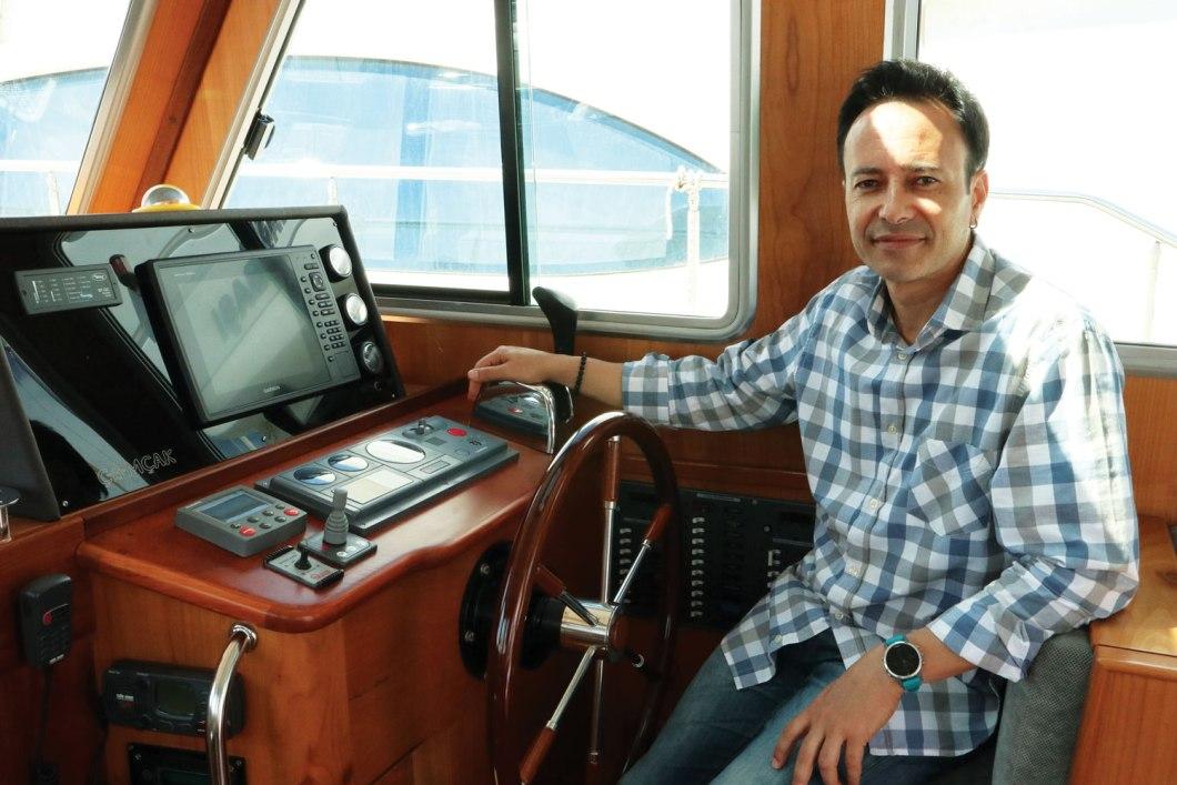 Çamcak teknesi - Erden Eke