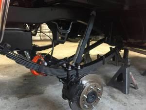 Rear Disc Brake Kit, GM Truck 6 Lug, 6991 BlazerSuburban, 6787 12 Ton Pickup