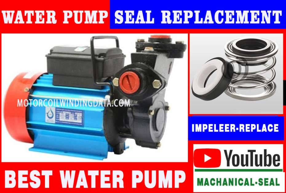 Water Pump Seal Replacement | How To Replace a Mechanical Seal On a Water Pump.motorcoilwindingdata.com
