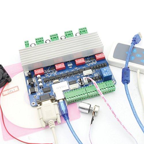 TB6560 Driver 57 Motor 4 Axis Motor Driver Kit CNC USB MACH3 Breakout Board
