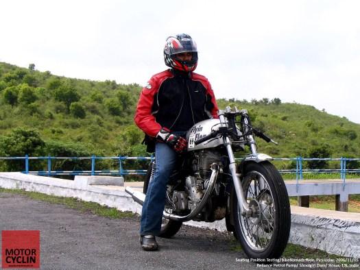 Cafe Racer Abhijith Rao Bike Nomad