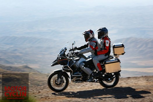 bmw r 1200 gs adventure 2014 couple two up