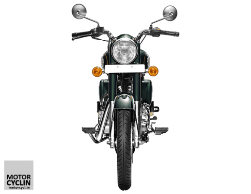 Royal Enfield Bullet 500 Specifications front view image