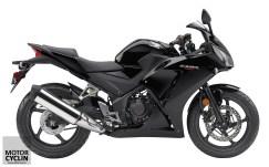 Black colored 2015 CBR 300R & CBR 300R ABS