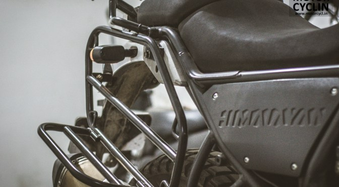 Royal Enfield Himalayan Saddle Bag Stay