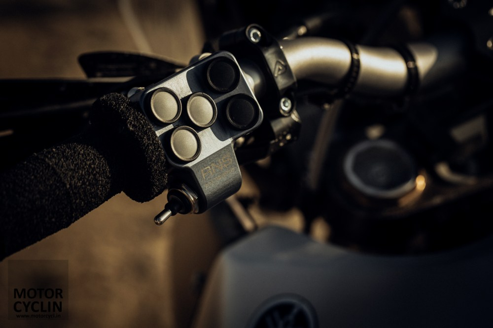 Yamaha T7 Concept Rally navigation styled buttons