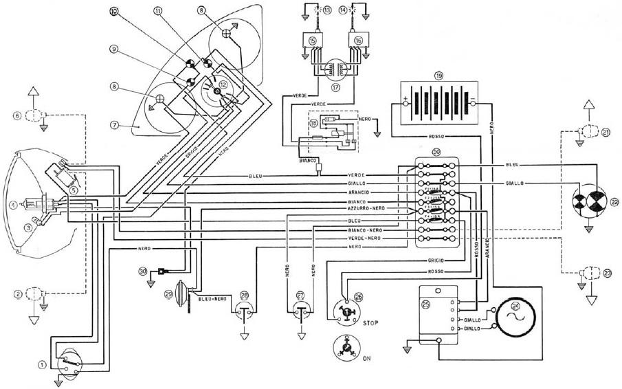 Wiring diagram ducati monster 620  24h schemes