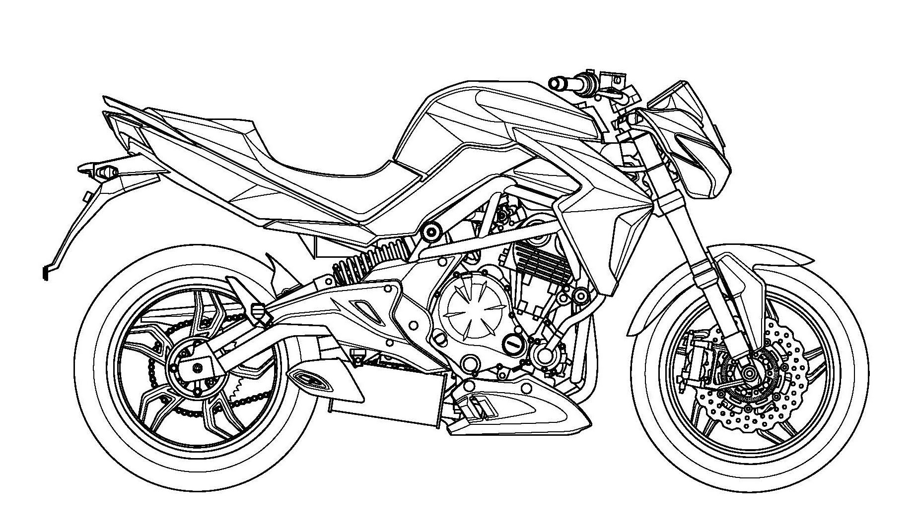 Kymco Patents Its Version Of Kawasaki Er 6n