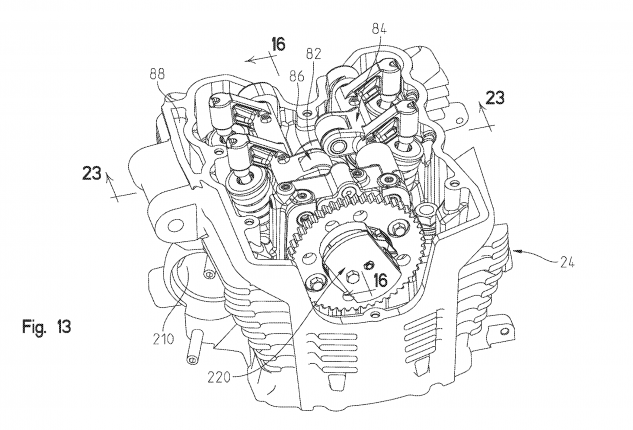 New Indian V-Twin Engine