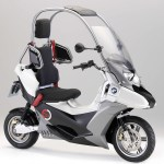 Bmw S C Evolution Scooter Could Get A C1 Style Roof