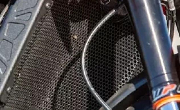 2019 KTM 790 Duke Evotech radiator cover