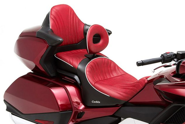Corbin Fire & Ice Saddle for Goldwing