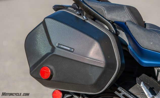 2019 Yamaha Niken GT luggage