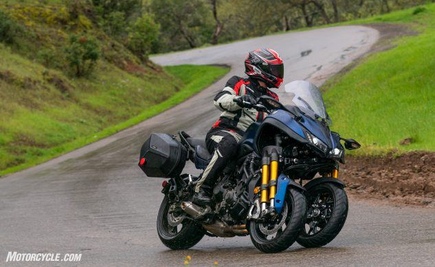 Best Sport-Touring Motorcycle of 2019 Runner-Up: Yamaha Niken GT