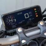 Honda CB650R display