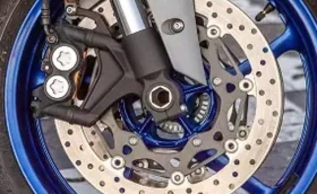 Yamaha R6 front brakes