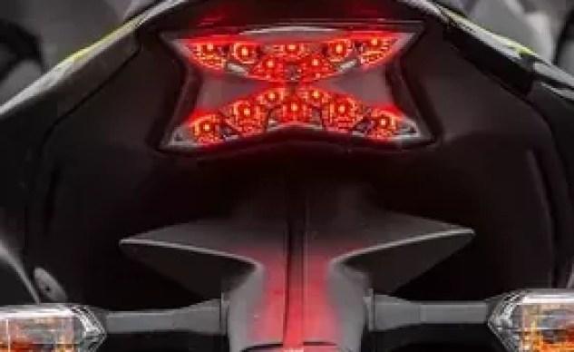 2020 Kawasaki Z900 taillight