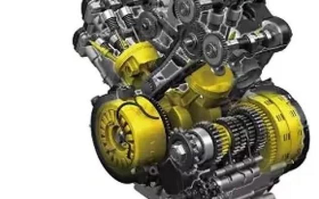 2014 Suzuki V-Strom 1000 engine