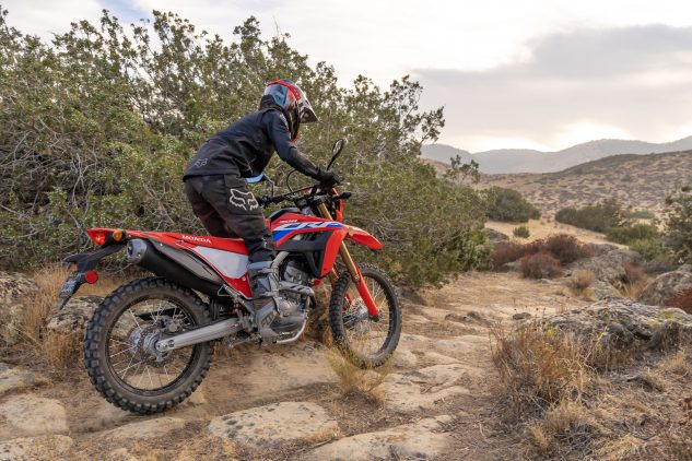21 Honda CRF300L Action