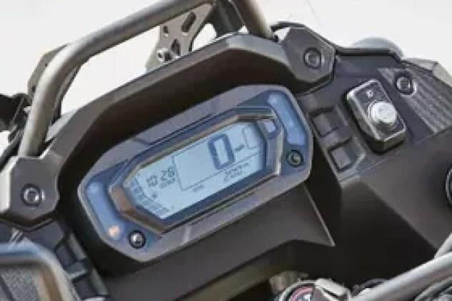 2022 Kawasaki KLR 650 display