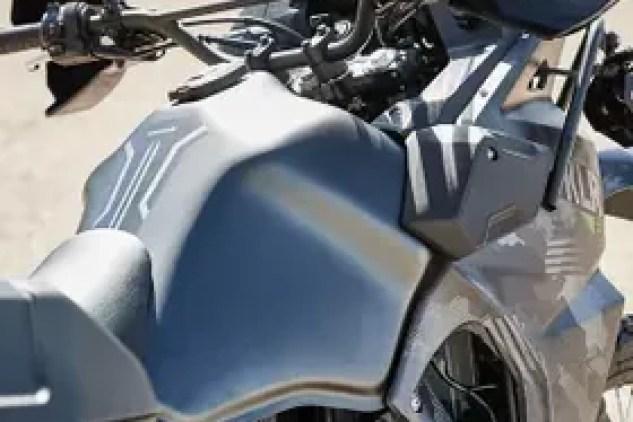 2022 Kawasaki KLR 650 fuel tank