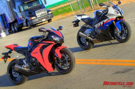 Each bike in this four-way battle for the 2010 Motorcycle.com Annual Literbike Shootout are excellent choices for anyone in the market for a new 1000cc sportbike. However, near the end of our evaluation it was becoming clear that either the Honda or BMW would eventually emerge as the overall champ.