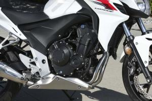 2013 Honda CB500F engine