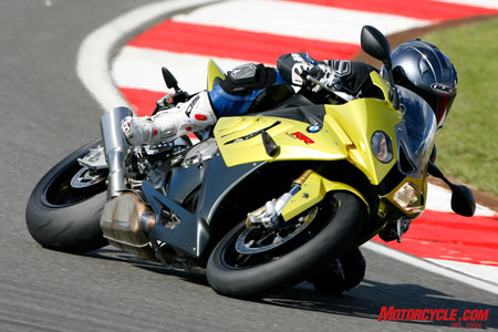 Although it's BMW's first foray into the liter-sized sportbike market, the S1000RR is already a well-honed package.
