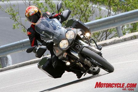 The Moto Guzzi Stelvio 1200 NTX is the newest challenger to the adventure bikes from BMW and KTM.