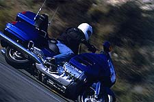 The Gold Wing gained quite a bit in terms of cornering prowess, but its true strength lies in its motor.