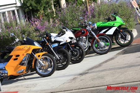 Church of MO: 2009 250cc Streetbike Shootout | Extreme Power