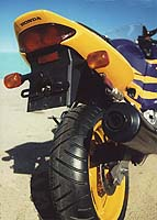 Changes for 1997 include a redesigned tail section that still pops loose.