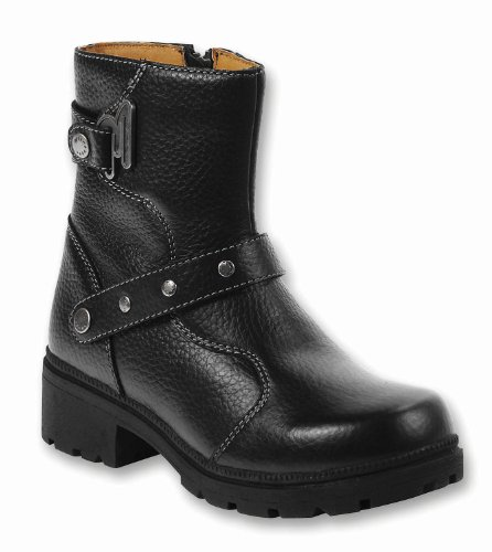 Milwaukee Motorcycle Clothing Company Mens Road Captain Motorcycle Boots Size 10.5D