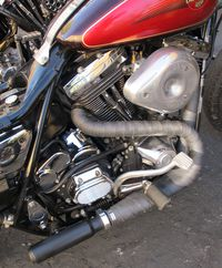 diy custom exhaust motorcycle cruiser