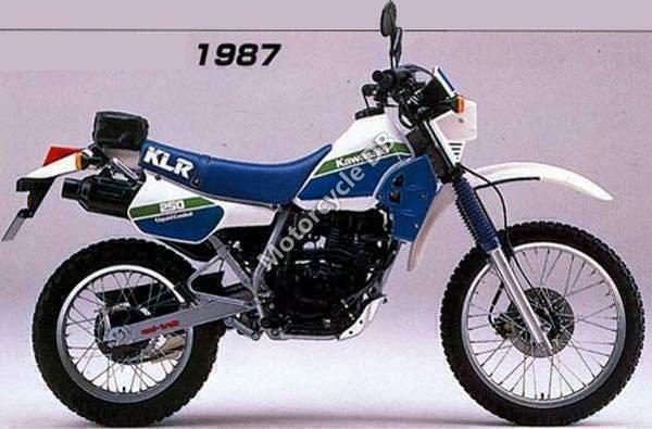 Kawasaki Klr 250 1990 Specifications