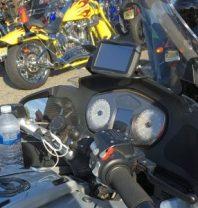 Garmin Zumo 590LM on BMW Motorcycle