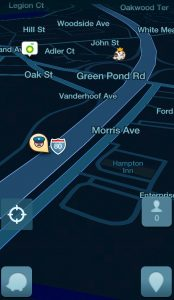Waze on a Smartphone works well on a motorcycle