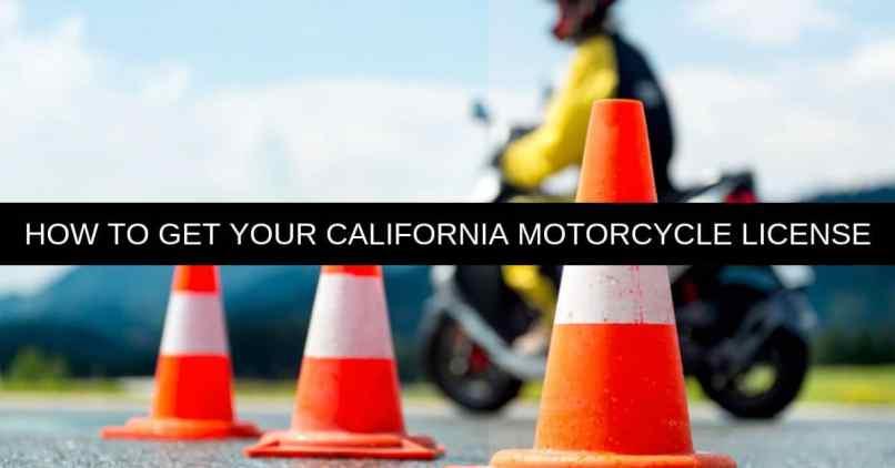 California Motorcycle License