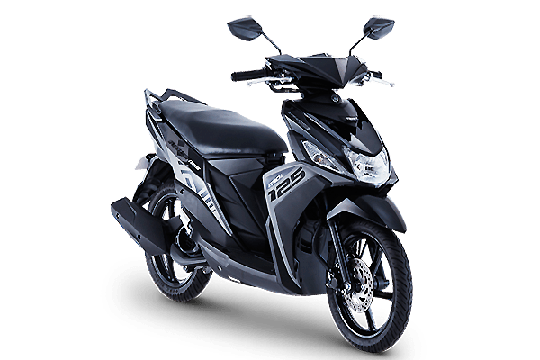 Mio i 125 s black motorcycle philippines for Yamaha philippines price list 2017