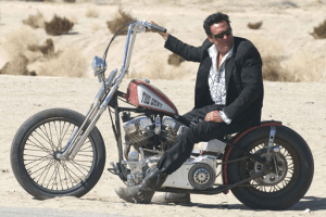 Michael Madsen stars in HELL RIDE. Photo by: Will McGarry/Third Rail Releasing, 2008.
