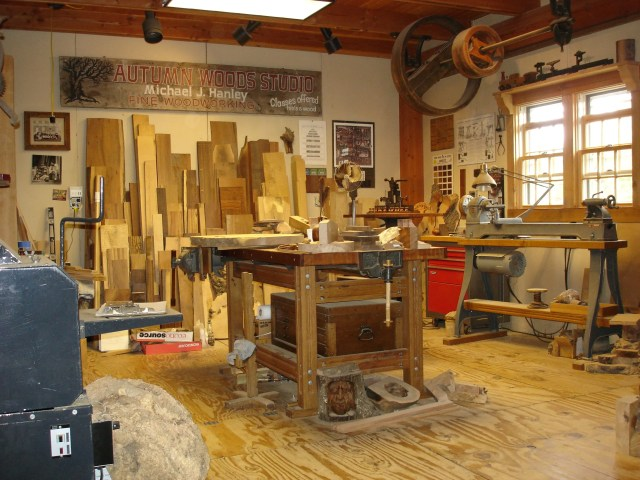 Autumn Woods Studio - Fine Woodworking by Michael J Hanley