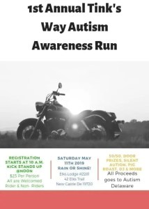 1st Annual Tink's Way Autism Awareness Ride