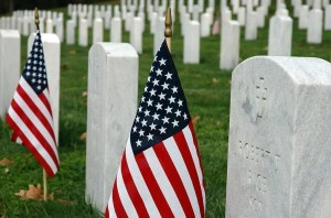 VHC-Flags at Quantico National Cemetery