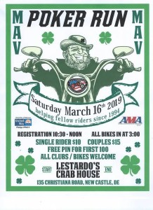 ST Patty's Day Poker Run