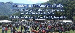 Thunder in the Smokies Spring Rally