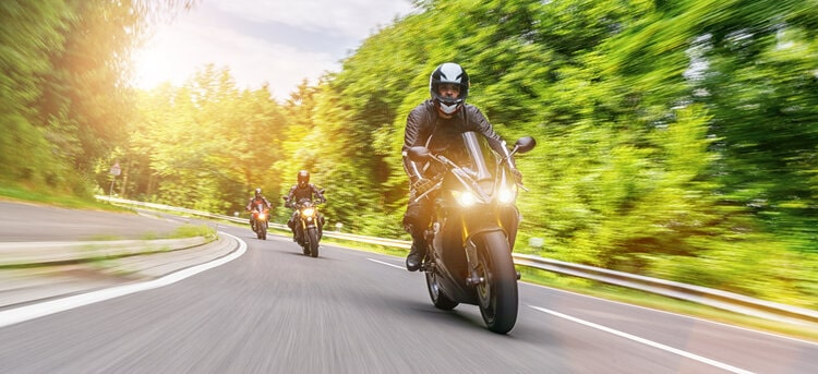 Motorcycle group riding through Europe - motorcycle touring mistakes